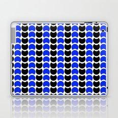 HobNob BlueBlack Print, Canvas and Laptop/iPad Skin Laptop & iPad Skin