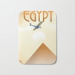 Egypt Travel poster Bath Mat