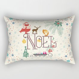 Christmas Noel Rectangular Pillow