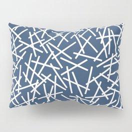 Kerplunk Navy and White Pillow Sham