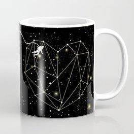 Astronaut Found Love in Space Coffee Mug