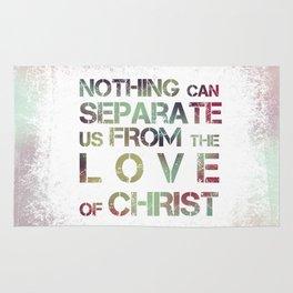 Love of Christ, Romans 8 Rug