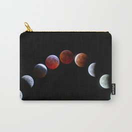 Moon Phases (Blood Moon) Carry-All Pouch
