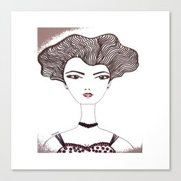 septiembre Anna Canvas Print