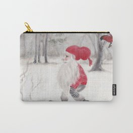 Gnome and bullfinch Carry-All Pouch