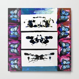 They're All Butterflies Metal Print