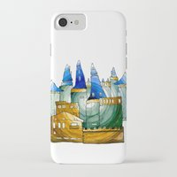 castle iPhone & iPod Cases featuring Castle by Irina  Mushkar'ova