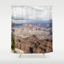 Grand Canyon No. 4 Pano Shower Curtain