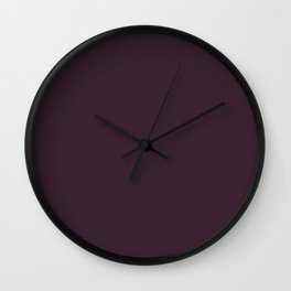Light and Dreamy ~ Mulberry Coordinating Solid Wall Clock