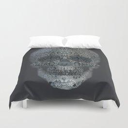 Snake Skull Duvet Cover