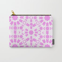 Pink Arabesque Carry-All Pouch