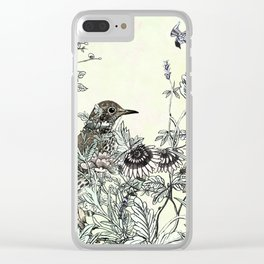 The thrush and a promise of Spring Clear iPhone Case