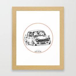 Crazy Car Art 0223 Framed Art Print