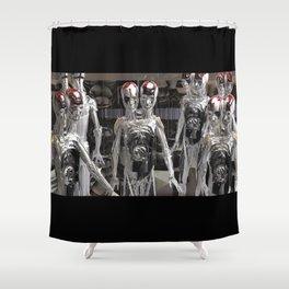 Interdimesional Hyper Spacial Entities Shower Curtain