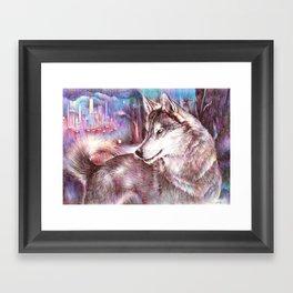 Hopeful Framed Art Print