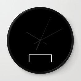Goal line Wall Clock