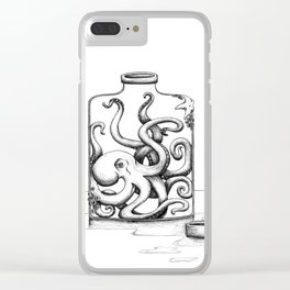 Bottled Up Clear iPhone Case