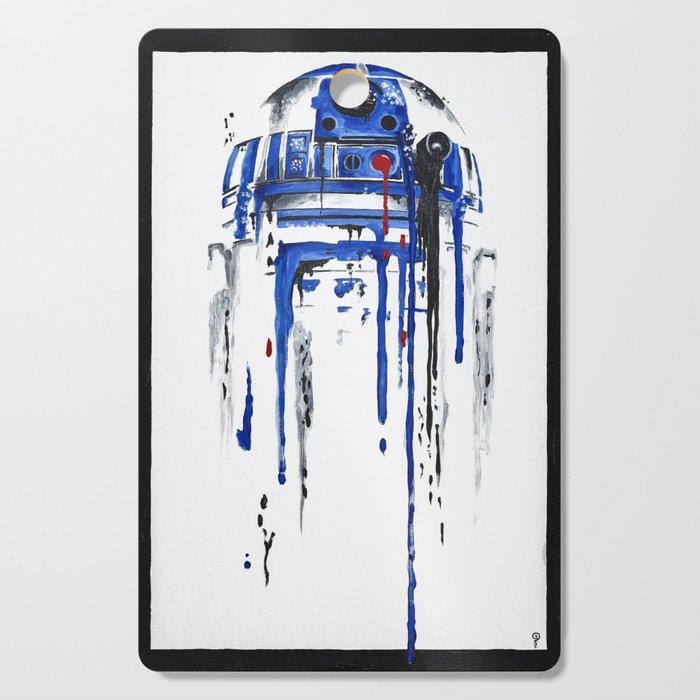 A blue hope 2 Cutting Board