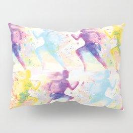 Watercolor women runner pattern Pillow Sham