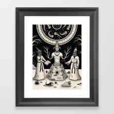The Incantation Framed Art Print