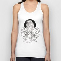 walrus Tank Tops featuring Walrus by Hopler Art