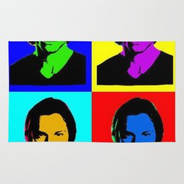 Jared Padalecki Pop Art Rug