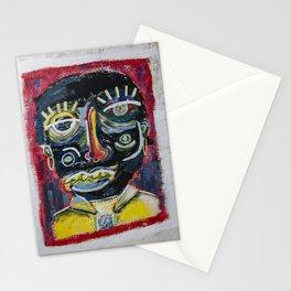 Arte, maquillaje y deconstrucción Stationery Cards
