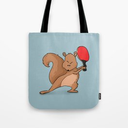 Talented Squirrel Tote Bag