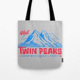 Visit Twin Peaks (hot pink) Tote Bag