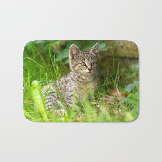 Sweet Baby Tiger Bath Mat