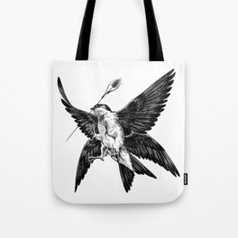 House Martin Tote Bag