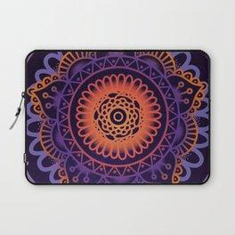 Colourful Mandala of Life Laptop Sleeve