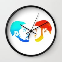 lebron Wall Clocks featuring NBA Finals by Λdd1x7