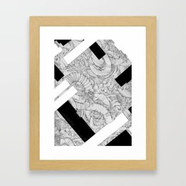 Opposing Insecurities Framed Art Print