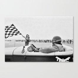 Pendine Sands 6l Canvas Print