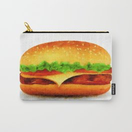 Tasty burger Carry-All Pouch