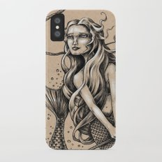 Mermaid with Rope iPhone X Slim Case