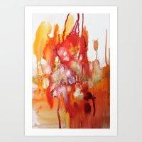 mer rouge Art Print