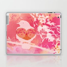 Hope is a Thing With Feathers Laptop & iPad Skin