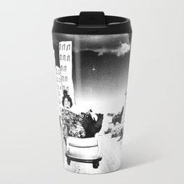 The Lingering Wreck of Someone's Ghost Travel Mug