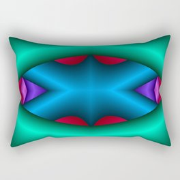 Silent Cry Rectangular Pillow