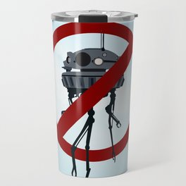 Drones are spooky? Travel Mug