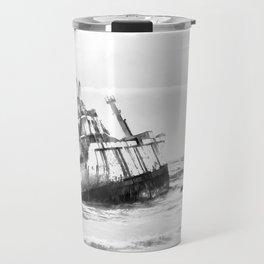 shipwreck aqrebw Travel Mug