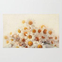 daisies on a stool Rug