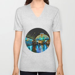 Last Train From Thailand Unisex V-Neck