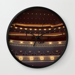 Chicago Orchestra Hall Color Photo Wall Clock
