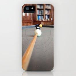 Eight Ball Corner Pocket iPhone Case