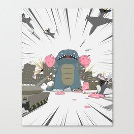 Godzelato! - Series 3: Eat this! Canvas Print