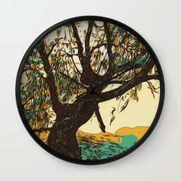 The Burial Ground Tree Wall Clock