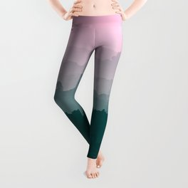 Love Mountains View Leggings